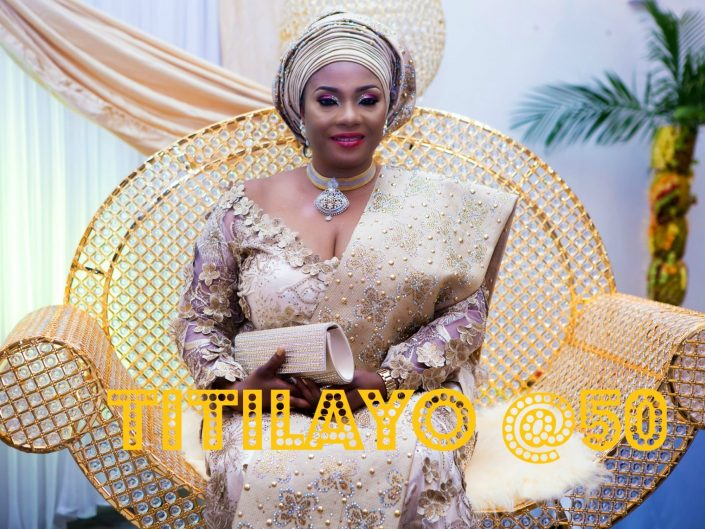 MS TITILAYO@ 50YRS